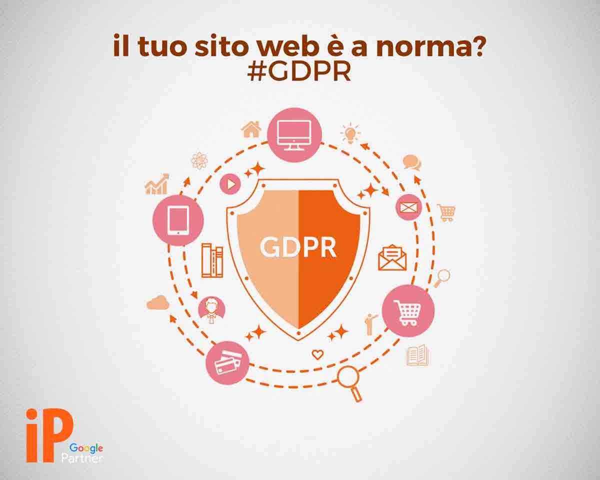 Come adeguare sito web al GDPR